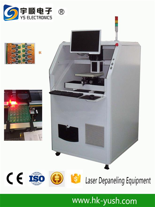 High Accuracy FPC / Rigid - Flex PCB Laser Depaneling Machine 10W / 12W