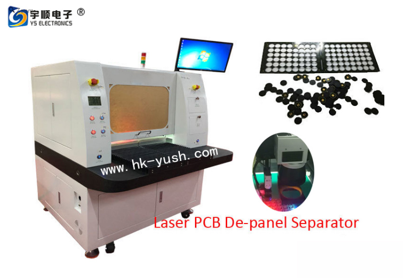 Laser PCB board splitter 10W for separating 355nm UV of PCB
