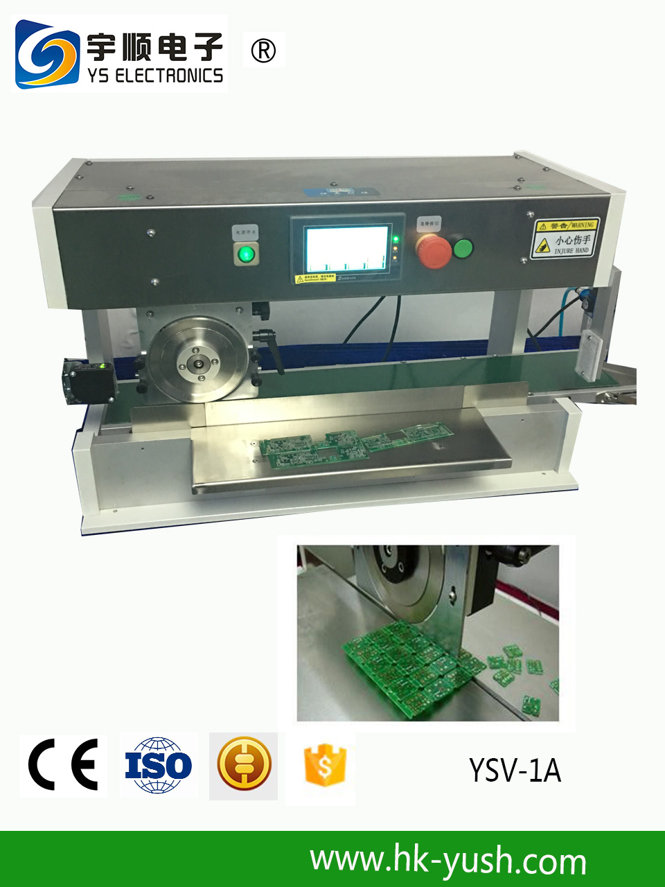 Automatic knife dividing machine